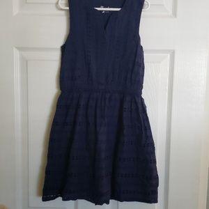 Eyelet summer dress